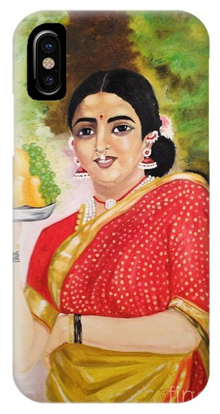 The Maharashtrian Lady IPhone Case