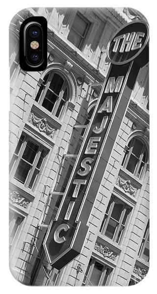 The Majestic Theater Dallas #3 IPhone Case