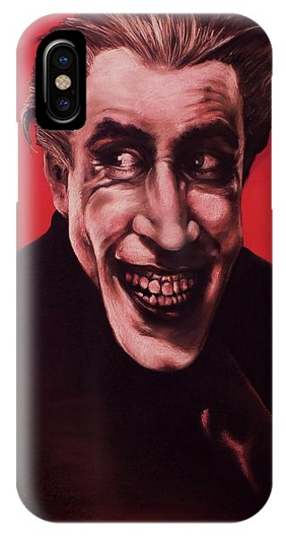 The Man Who Laughs IPhone Case