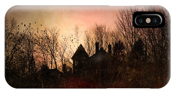 The Mansion Is Warm At The Top Of The Hill IPhone Case