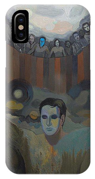 The Mask Phone Case by Fernando Alvarez