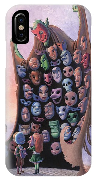 The Mask Vendor IPhone Case