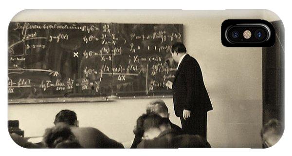 Year 1956 The Math Teacher  IPhone Case
