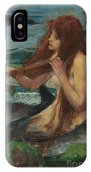 Mermaid iPhone Case - The Mermaid by John William Waterhouse