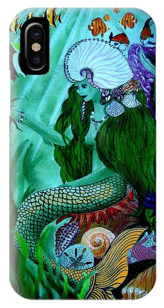 The Mermaid Phone Case by Sylvie Heasman