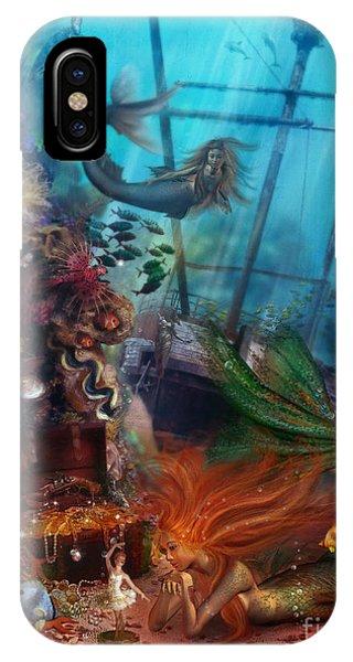 Reef iPhone Case - The Mermaids Treasure by MGL Meiklejohn Graphics Licensing