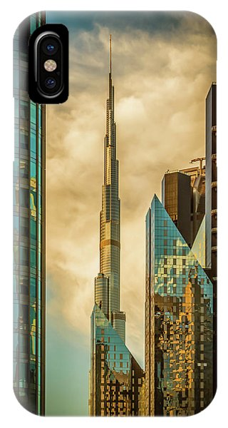 Business iPhone Case - The Mighty burj by Nicolas Tohme