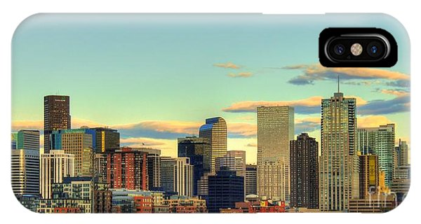 The Mile High City IPhone Case