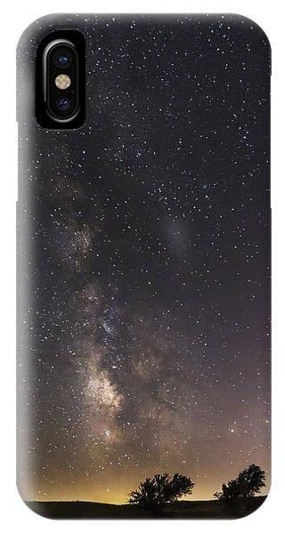The Milky Way And Dark Kansas Skies IPhone Case