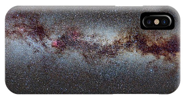 Swan iPhone Case - The Milky Way From Scorpio And Antares To Perseus by Guido Montanes Castillo
