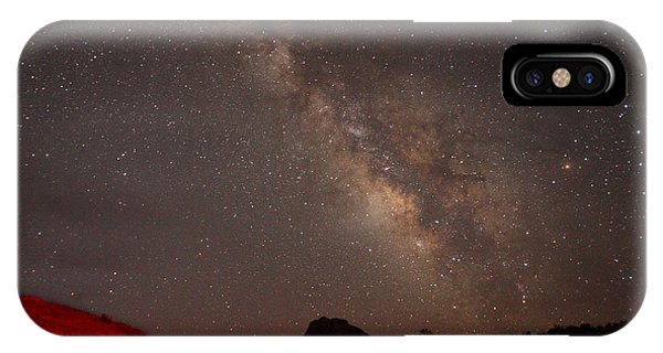 The Milky Way Over Mesa Arch IPhone Case