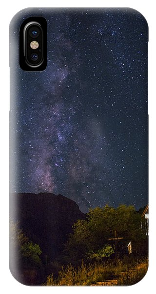 Chapel iPhone Case - The Milky Way To The Chapel by Aaron Bedell