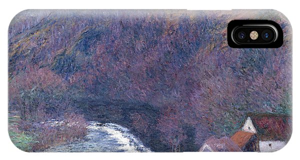 1880s iPhone Case - The Mill At Vervy by Claude Monet