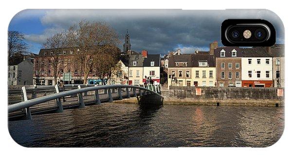 The Millenium Foot Bridge With St Annes IPhone Case