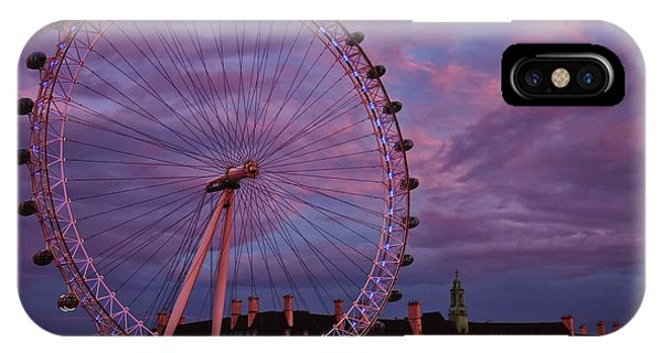 The Millennium Wheel IPhone Case