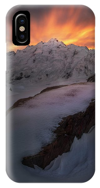 Snowy iPhone Case - The Minarets by Yan Zhang