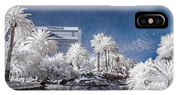 The Mirage In Infrared 1 IPhone Case