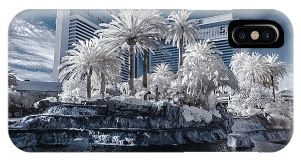 The Mirage In Infrared 2 IPhone Case