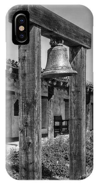 The Mission Bell B/w IPhone Case