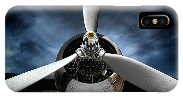 Airplanes iPhone Case - The Mission by Olivier Le Queinec