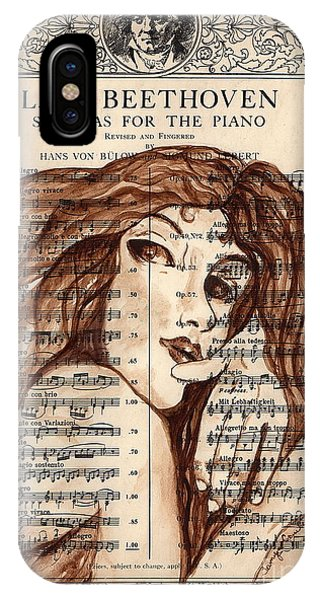 The Mistress Of Music IPhone Case