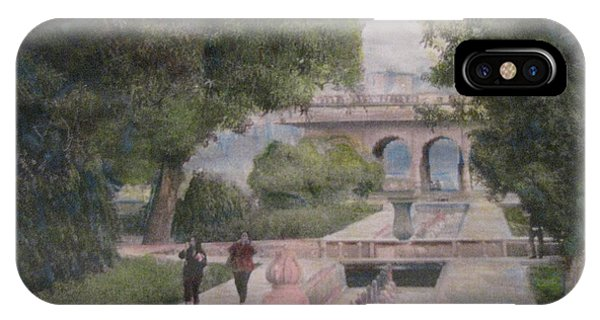 The Moghul Gardens IPhone Case