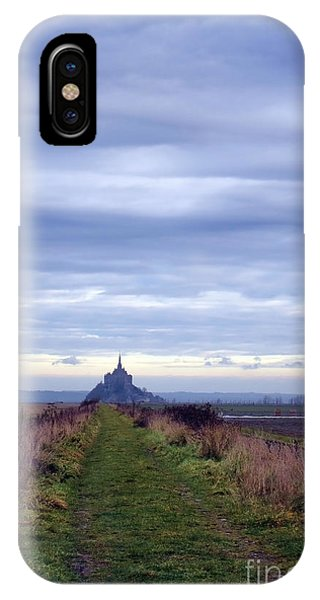 Normandy iPhone Case - The Mont Saint Michel In Normandy France by Olivier Le Queinec