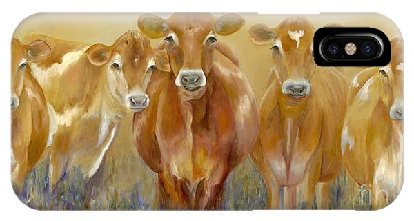 Cow iPhone X / XS Case - The Morning Moo by Catherine Davis