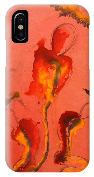 The Mortal Angels IPhone Case