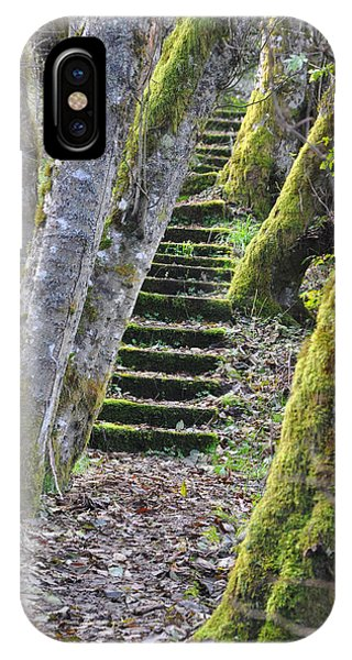 The Moss Stairs IPhone Case
