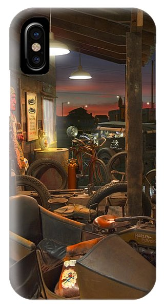 The Motorcycle Shop 2 IPhone Case