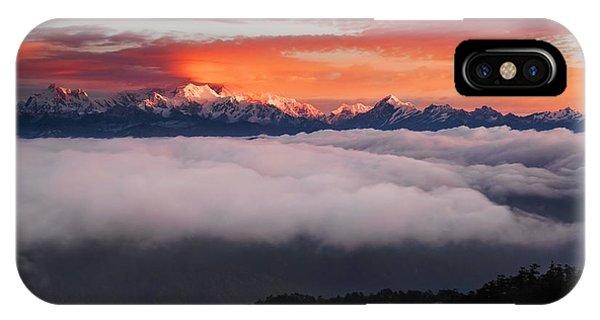 The Mountain Gods Phone Case by Karsten Wrobel
