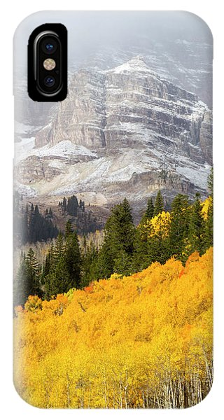 iPhone Case - The Mountainside Is Ablaze by Robbie George