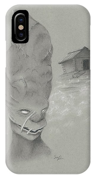 The Mummy Aka Uncle Ned IPhone Case