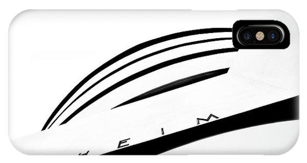 Facade iPhone Case - The Museum by Ute Scherhag