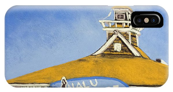 The Nalu Surf Shack Phone Case by Cristel Mol-Dellepoort