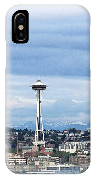 The Needle In Seattle Wa IPhone Case