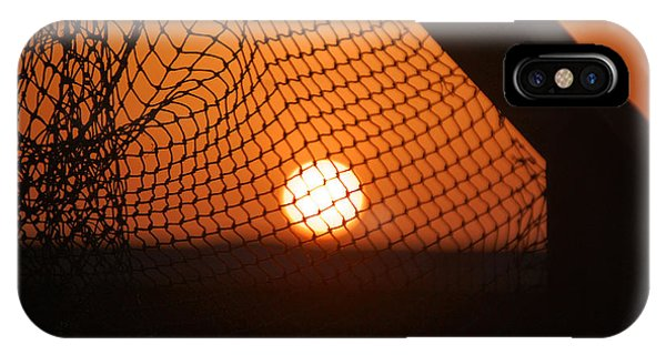 The Netted Sun IPhone Case