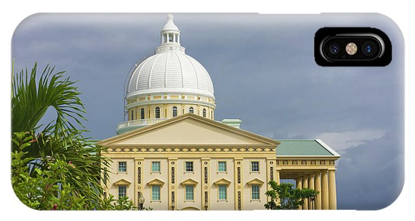 Micronesia iPhone Case - The New $27 Million National Capitol by Keren Su
