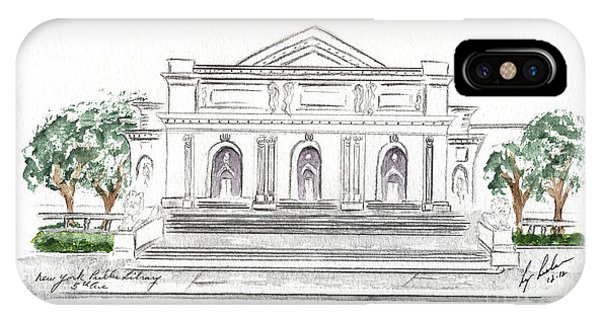 The New York Public Library IPhone Case