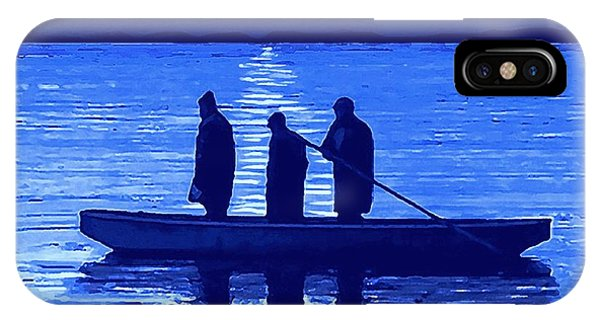 The Night Fishermen IPhone Case