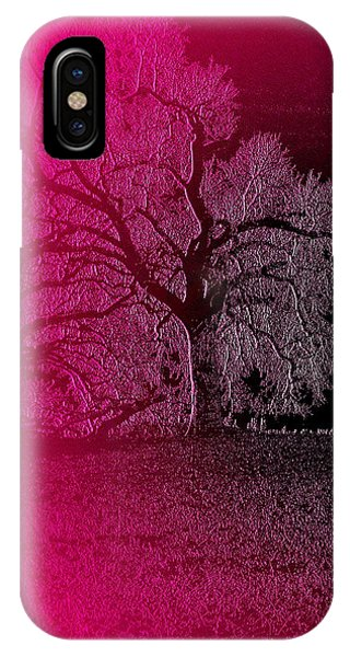 IPhone Case featuring the digital art The Night by Visual Artist Frank Bonilla