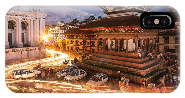 The Nights Of Stunning Kathmandu IPhone Case