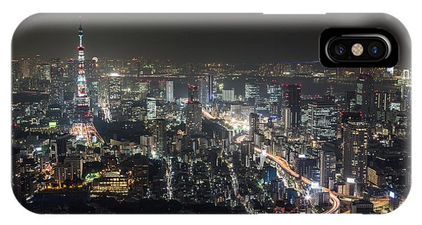 The Nights Of Tokyo IPhone Case