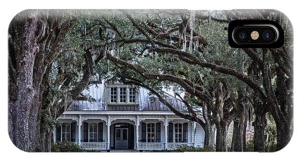 The Oaks Plantation IPhone Case