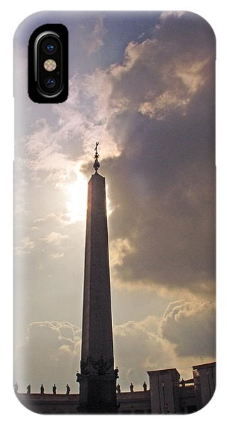 IPhone Case featuring the photograph The Obelisk by Joe Winkler