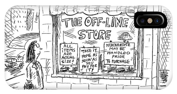 The Off-line Store IPhone Case