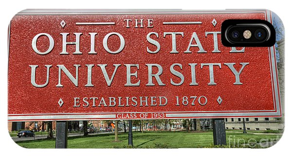 The Ohio State University IPhone Case