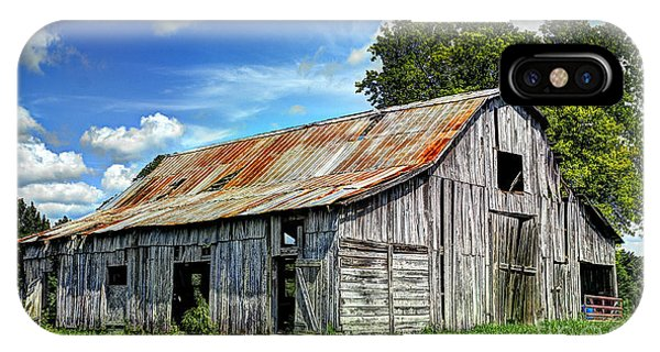 The Old Adkisson Barn IPhone Case