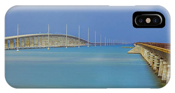 The Old- And New 7 Mile Bridge IPhone Case
